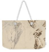 Apollo And Studies Of The Artist's Own Hand [recto] Weekender Tote Bag