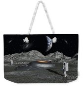 Apollo Astronauts Discover A Ufo Weekender Tote Bag