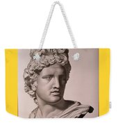 Apollo Bust Drawing Weekender Tote Bag