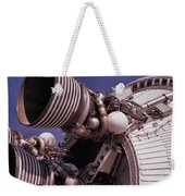 Apollo Rocket Engine Weekender Tote Bag