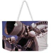 Apollo Rocket Engine Weekender Tote Bag