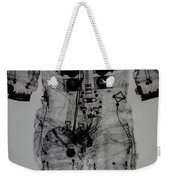 Apollo Space Suit X-ray Weekender Tote Bag