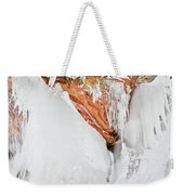 Apostle Islands Frozen Canyon Weekender Tote Bag