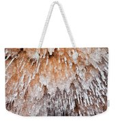 Apostle Islands Icicle Cave Weekender Tote Bag