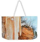 Apostle Islands Waterfall Portrait Weekender Tote Bag