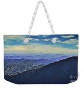 Appalachia Blue Weekender Tote Bag