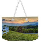 Appalachian Evening Weekender Tote Bag