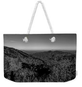 Appalachian Mountains From Mount Mitchell, The Highest Point In  Weekender Tote Bag