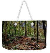 Appalachian Trail Clearing Weekender Tote Bag