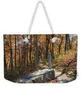 Appalachian Trail In Shenandoah National Park Weekender Tote Bag