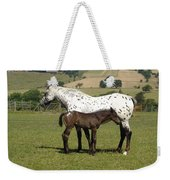 Appaloosa Mare And Foal Weekender Tote Bag