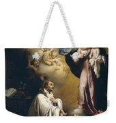 Apparition Of The Virgin To Saint Bernardo  Weekender Tote Bag