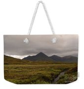 Appealing Scenic Landscacpe In Cuillen Hills Scotland  Weekender Tote Bag