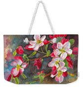 Apple Blossom 2 Weekender Tote Bag