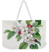 Apple Blossom Weekender Tote Bag by Pierre Joseph Redoute