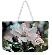 Apple Blossom Time Weekender Tote Bag