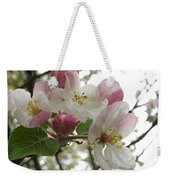 Apple Blossoms - Wild Apple Weekender Tote Bag