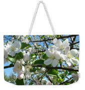 Apple Blossoms Art Prints 60 Spring Apple Tree Blossoms Blue Sky Landscape Weekender Tote Bag