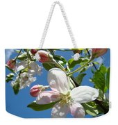 Apple Blossoms Art Prints Blue Sky Spring Baslee Troutman Weekender Tote Bag