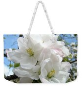 Apple Blossoms Art Prints Giclee 48 Spring Apple Tree Blossoms Blue Sky Macro Flowers Weekender Tote Bag