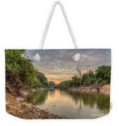Apple Creek At Dusk Weekender Tote Bag