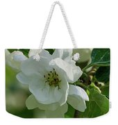 Apple Flowers Weekender Tote Bag