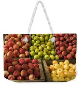 Apple Harvest Weekender Tote Bag