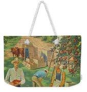 Apple Industry Weekender Tote Bag
