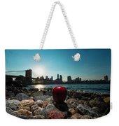 Apple On The Rocks Weekender Tote Bag