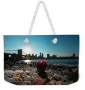 Apple On The Rocks Weekender Tote Bag