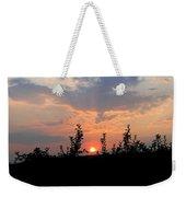 Apple Orchard Silhouette Weekender Tote Bag