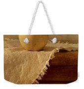 Apple Pear On A Table Weekender Tote Bag