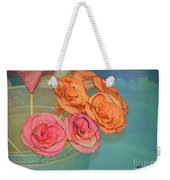 Apple Roses Weekender Tote Bag