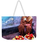 Apple Seller Weekender Tote Bag