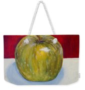 Apple Study Weekender Tote Bag