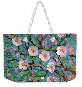 Apple Tree Blossom Weekender Tote Bag