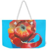 Apple Twist Weekender Tote Bag