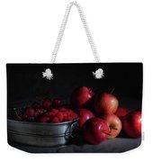 Apples And Berries Panoramic Weekender Tote Bag
