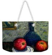 Apples And Bottles Weekender Tote Bag