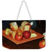 Apples And Bread Weekender Tote Bag
