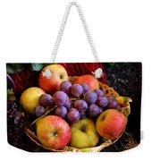 Apples And Grapes Weekender Tote Bag
