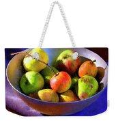 Apples And Pears Weekender Tote Bag