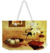 Apples And Pears In A Hallway Weekender Tote Bag