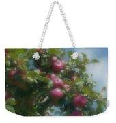 Apples And Sky Weekender Tote Bag