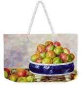 Apples In A Dish Weekender Tote Bag