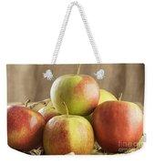 Apples In Basket Weekender Tote Bag
