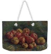 Apples Paris, September - October 1887 Vincent Van Gogh 1853 - 1890 Weekender Tote Bag