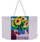 Apples  Sunflowers Weekender Tote Bag