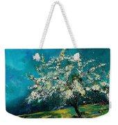 Appletree In Spring Weekender Tote Bag