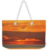 Approaching August Sunrise At Lake Simcoe  Weekender Tote Bag